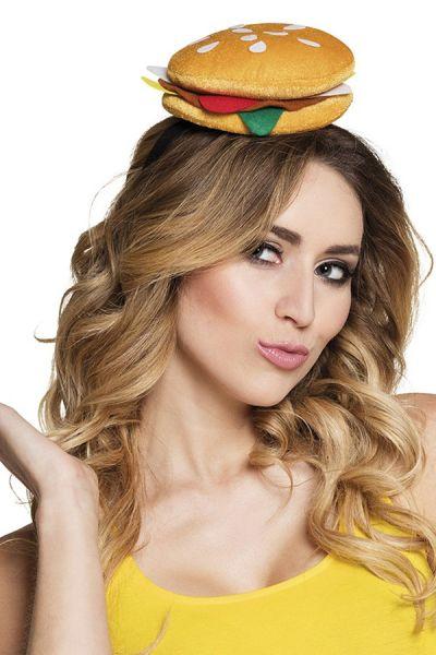 Hamburger op hoofdband