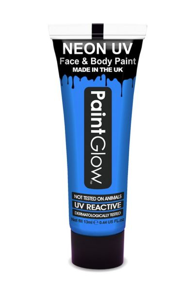 PaintGlow neon UV schmink blauw
