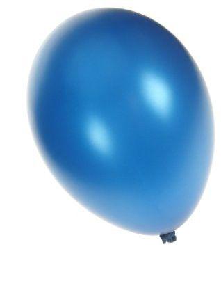 Kwaliteitsballon metallic blauw