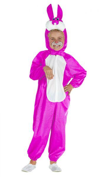 Grappig roze konijnenpak