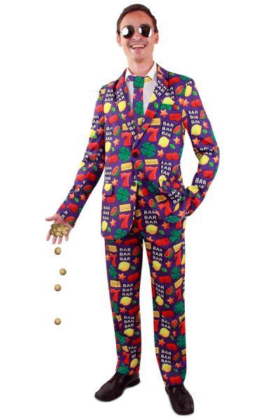 Grappig Casino fruit kostuum