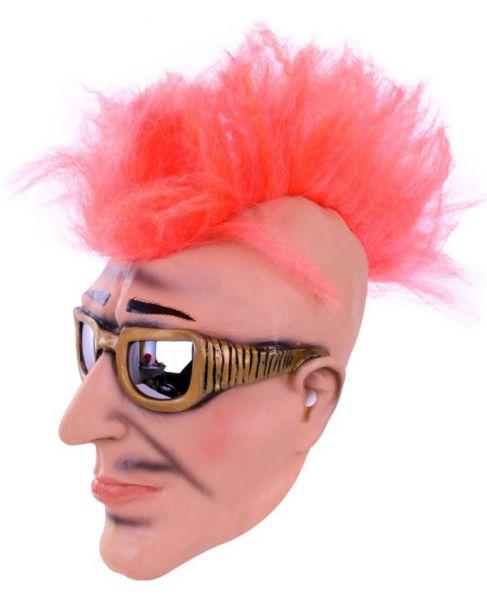 Masker punk rocker met zonnebril