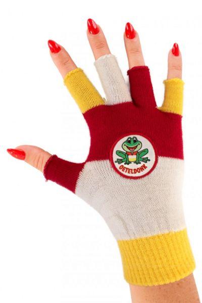 Vingerloze handschoenen Oeteldonk met kikker