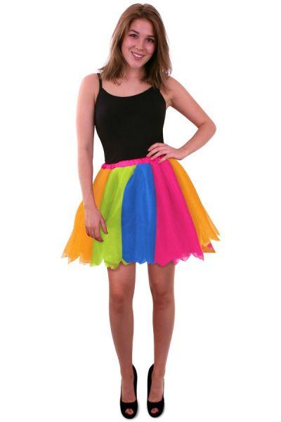 Tule Kleed regenboog