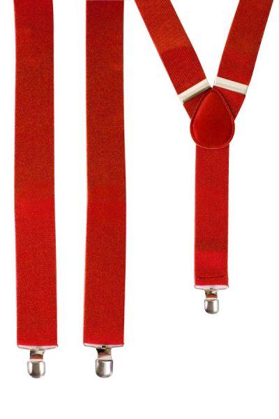 Bretels kleur rood