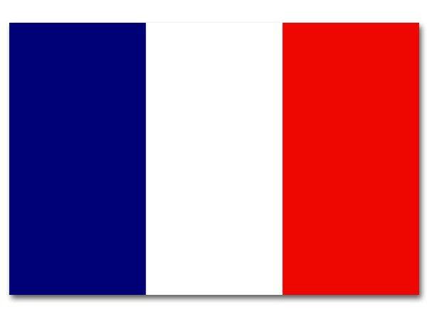 Vlag frankrijk luxe 90x150cm