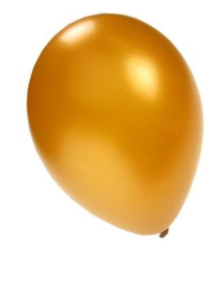 Kwaliteitsballon metallic goud