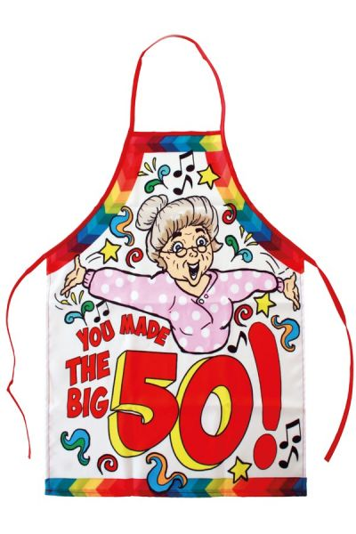 Keuken schorte Sarah you made the big 50