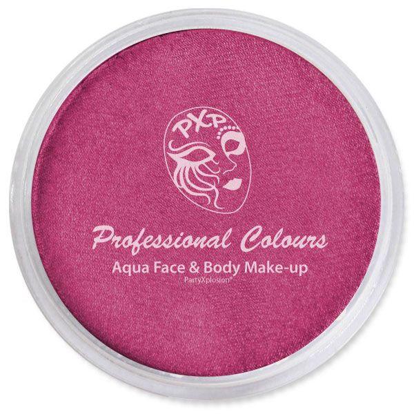 PartyXplosion schmink Metallic donker pink