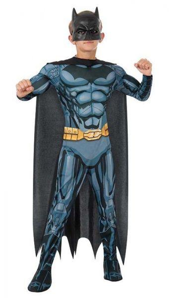 Stoere Batman muscle chest carnavalskledij kind