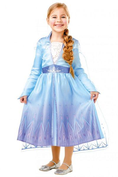 Meisjes kleedje van Elsa uit de kaskraker Frozen 2