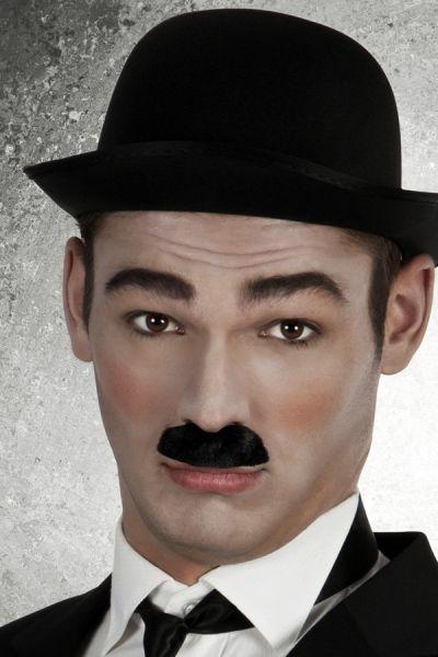 Charlie Chaplin mustache black Comedian