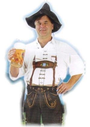 Oktoberfest kledij Bierschort Bayern Sep