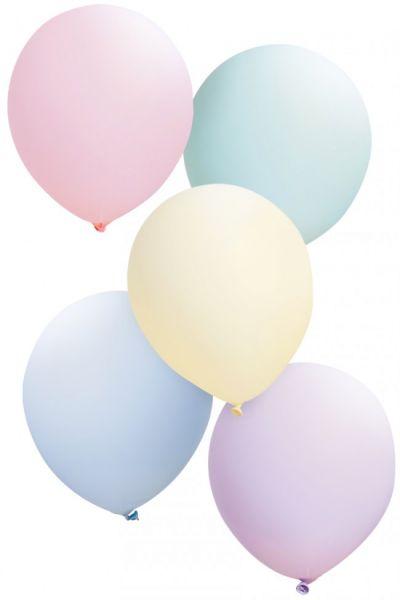 Ballonnen pastelkleuren assorti