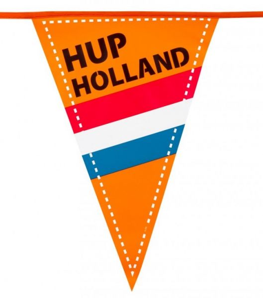 Vlaggenlijn Hup Holland 15 vlaggen