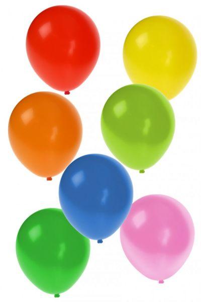 Helium ballonnen 100 stuks assorti kleuren nr 10