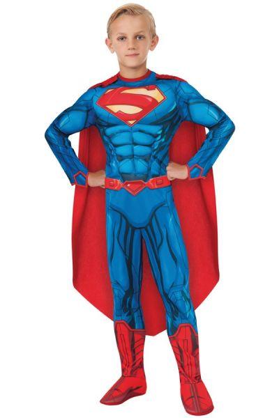 Superman muscle chest verkleedkledij kind