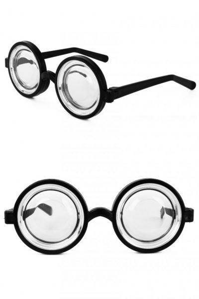 Jampot bril met dikke glazen