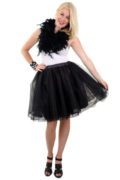 Tule rock & roll kleedje zwart